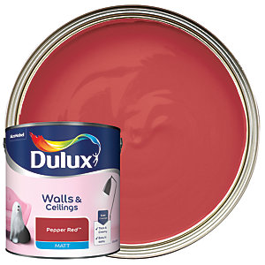 Dulux - Pepper Red - Matt Emulsion Paint 2.5L