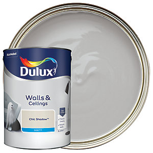 Dulux - Chic Shadow - Matt Emulsion Paint 5L