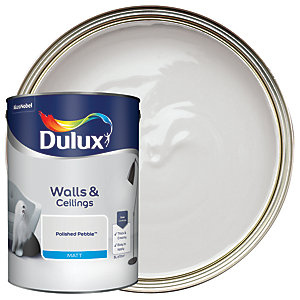 Dulux - Polished Pebble - Matt Emulsion Paint 5L