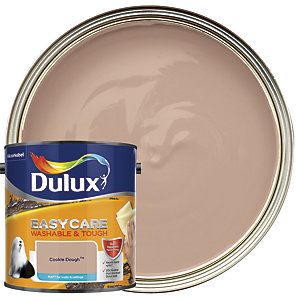 Dulux Easycare Washable & Tough - Cookie Dough - Matt Emulsion Paint 2.5L