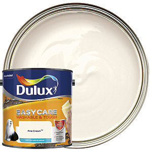 Dulux Easycare Washable & Tough - Fine Cream - Matt Emulsion Paint 2.5L
