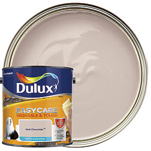 Dulux Easycare Washable & Tough - Malt Chocolate - Matt Emulsion Paint 2.5L