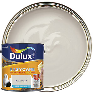 Dulux Easycare Washable & Tough - Pebble Shore - Matt Emulsion Paint 2.5L
