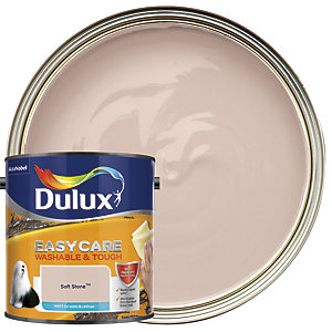 Dulux Easycare Washable & Tough - Soft Stone - Matt Emulsion Paint 2.5L