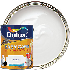 Dulux Easycare Washable & Tough - Rock Salt - Matt Emulsion Paint 5L