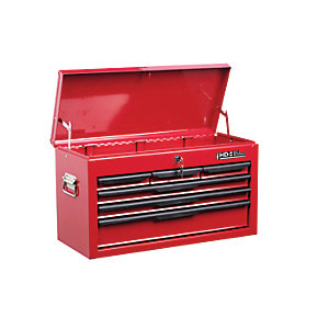 Hilka Heavy Duty 6 Drawer Tool Chest - Red