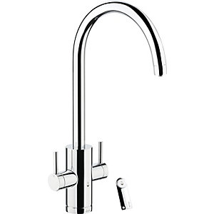 Pronteau by Abode Profile Monobloc 4 In 1 Hot Water & Filter Sink Tap - Chrome