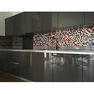 Wickes House of Mosaics Ibiza Mosaic Tile Sheet - 300 x 300mm