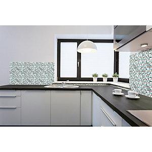 Wickes House of Mosaics Darwin Mosaic Tile Sheet - 300 x 300mm