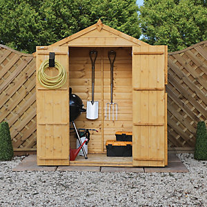 Mercia 3 x 6 ft Timber Shiplap Apex Shed