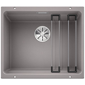 Blanco Etagon 1 Bowl Silgranit Undermount Kitchen Sink - Grey