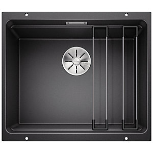 Blanco Etagon 1 Bowl Silgranit Undermount Kitchen Sink - Black