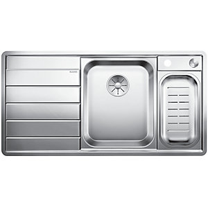 Blanco Axis 1.5 Bowl Left Hand Stainless Steel Kitchen Sink