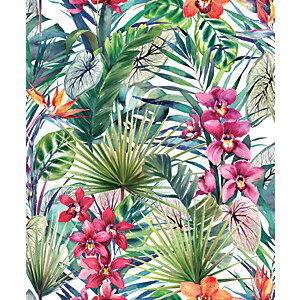 Superfresco Easy Aloha Tropical Decorative Wallpaper - 10m