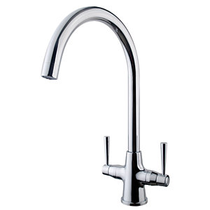 Wickes Toba Monobloc Kitchen Sink Mixer Tap - Chrome