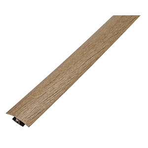 Aspiran /Chelsea Hickory/Historic Oak Variable Height Threshold Bar - 900mm