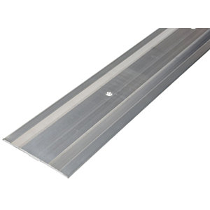 Vitrex Extra Wide Carpet Cover Trim Silver - 1.8m