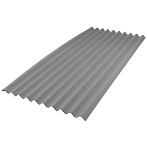 Onduline Intensive Grey Bitumen Corrugated Roof Sheet - 950mm x 2000mm x 3mm