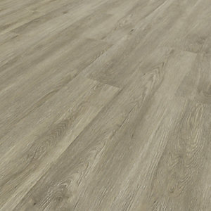 Novocore Light Grey Oak Luxury Vinyl Click Flooring - 2.56m2 Pack