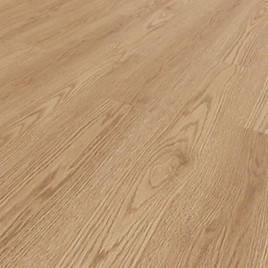 Novocore York Oak Luxury Vinyl Click Flooring - 3.29m2 Pack
