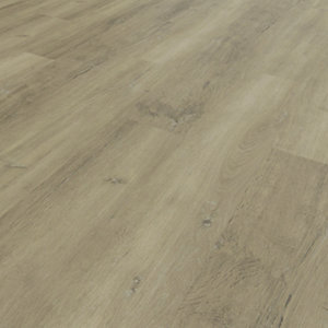 Novocore Grey/Beige Oak Luxury Vinyl Click Flooring - 2.56m2 Pack