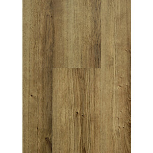 Novocore Warm Oak Luxury Vinyl Click Flooring Sample
