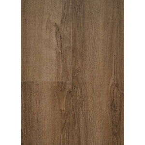 Novocore Dark Oak Luxury Vinyl Click Flooring Sample