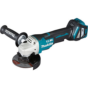 Makita DGA467Z 18V LXT 115mm Brushless Cordless Angle Grinder - Bare