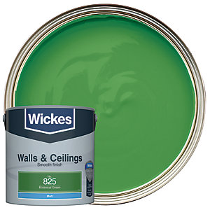 Wickes Botanical Green - No.825 Vinyl Matt Emulsion Paint - 2.5L