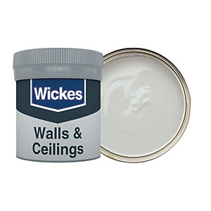 Wickes Nickel - No. 205 Vinyl Matt Emulsion Paint Tester Pot - 50ml