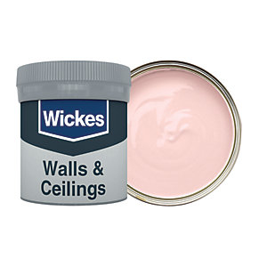 Wickes Poetic Pink - No. 605 Vinyl Matt Emulsion Paint Tester Pot - 50ml