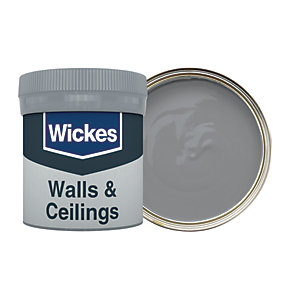 Wickes Slate - No. 235 Vinyl Matt Emulsion Paint Tester Pot - 50ml