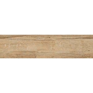Wickes Mercia Oak Wood Grain Tile - 150 x 600mm Sample