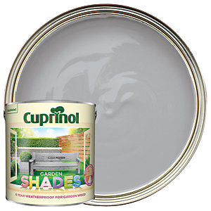 Cuprinol Garden Shades Matt Wood Treatment - Cool Marble 2.5L