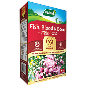 Westland Fish Blood & Bone Plant Food - 4kg