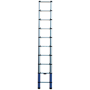 Werner Telescopic 2.9m Aluminium Extension Ladder