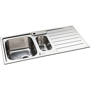 Neron 1.5 Bowl Stainless Steel Kitchen Sink
