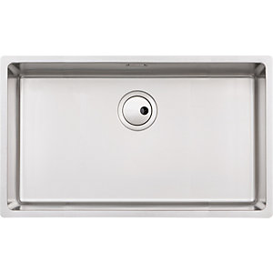 Abode Matrix 1 Bowl Extra Large Stainless Steel Kitchen Sink