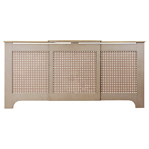 Wickes Halsted Large Adjustable Radiator Cover Unfinished - 1430-2000 mm