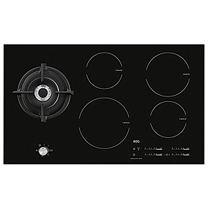 AEG 90cm Induction Hob with Wok Burner HD955100NB
