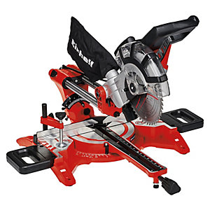 Einhell Tc-sm 2131 Corded 210mm Sliding Compound Mitre Saw - 1800w