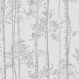 Superfresco Easy Grey Branches Wallpaper - 10m