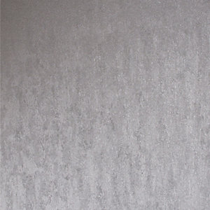 Superfresco Easy Silver Molten Wallpaper - 10m