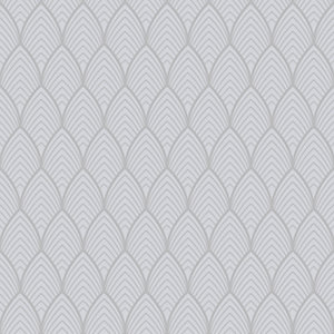 Superfresco Easy Bercy Grey Geometric Wallpaper - 10m