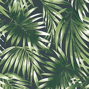 Superfresco Easy Green Elegant Leaves Wallpaper - 10m