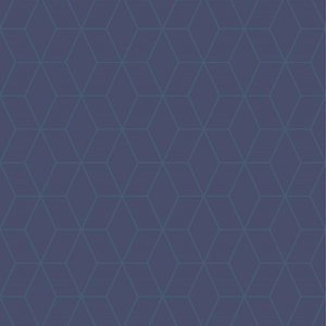 Superfresco Easy Blue Prism Wallpaper - 10m