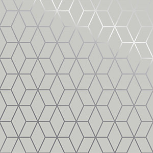 Superfresco Easy White Prism Wallpaper - 10m