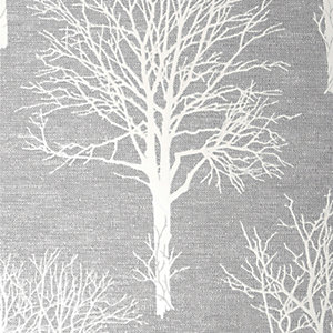 Boutique Landscape Dove Grey Wallpaper - 10m