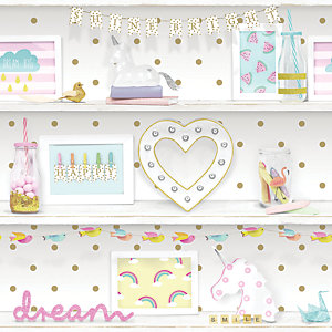 Arthouse Girls Life Multi Wallpaper 10.05m x 53cm