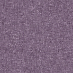 Arthouse Linen Texture Heather Wallpaper 10.05m x 53cm